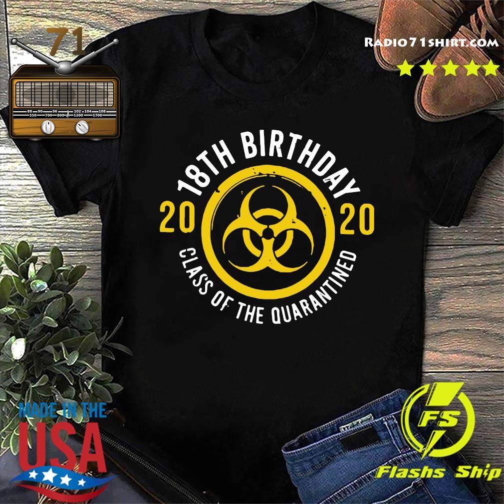 18th birthday 2020 Class Of The Quarantined Shirt