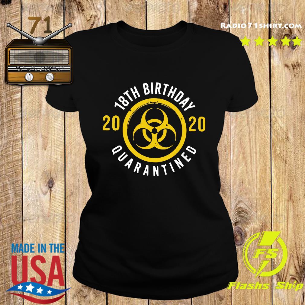 18th Birthday 2020 Quarantined Shirt Ladies tee