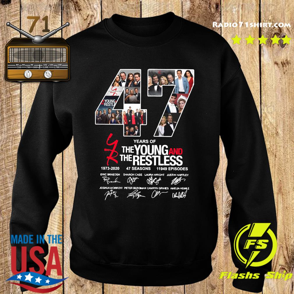 47 Years Of The Young And The Restless 1973 2020 47 Seasons 11949 Episodes Signatures Shirt Sweater