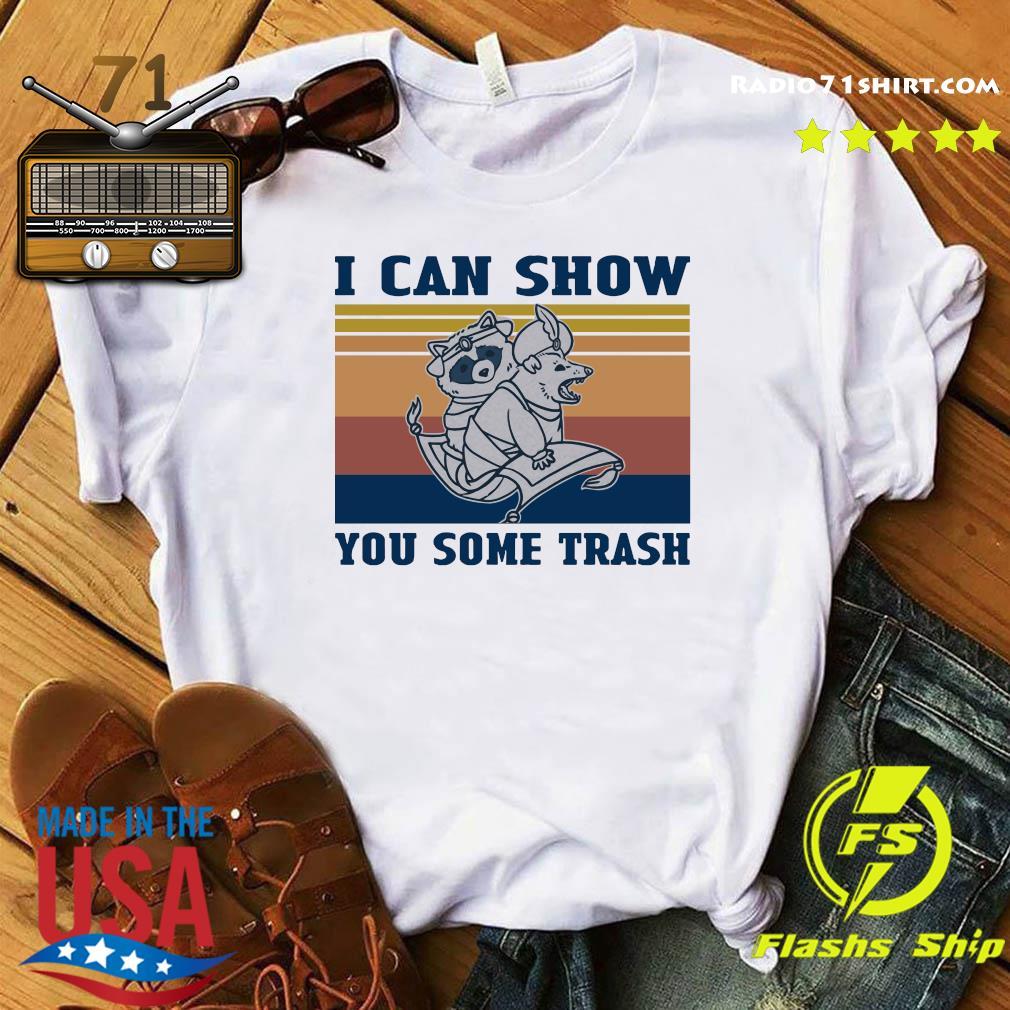 Aladdin Raccoon Opossum I Can Show You Some Trash Vintage Shirt