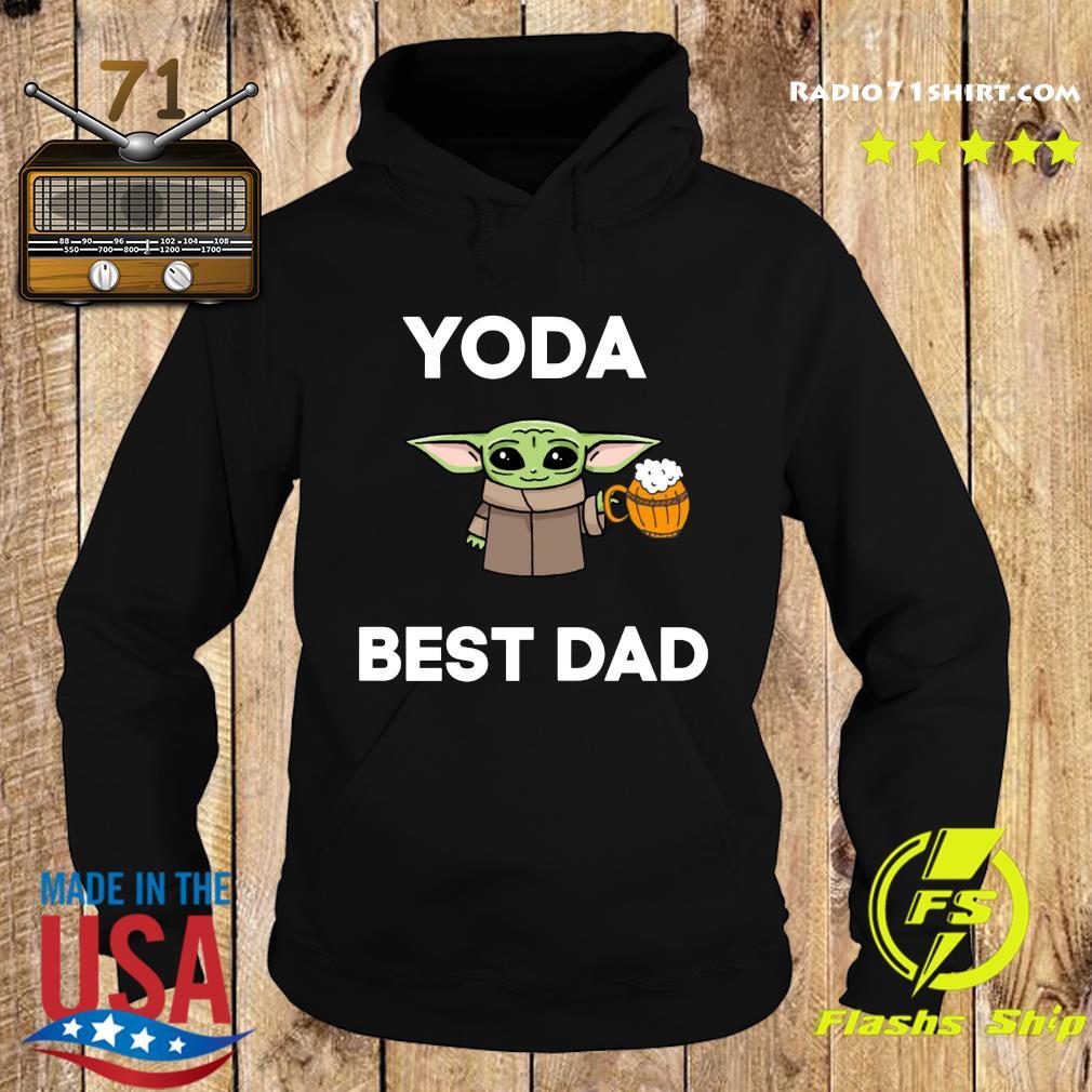Baby Yoda Best Dad Shirt Hoodie