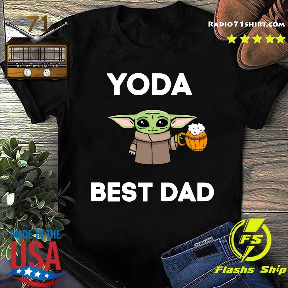 Baby Yoda Best Dad Shirt