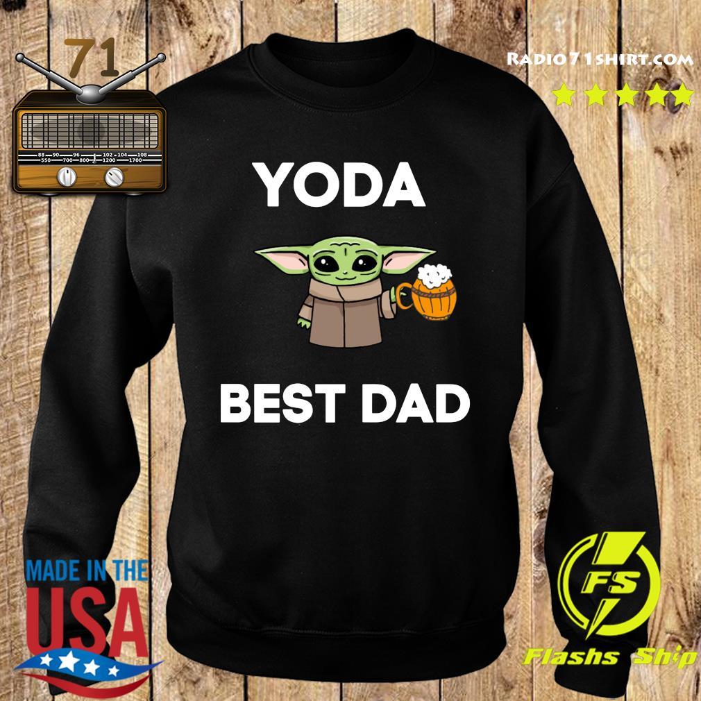 Baby Yoda Best Dad Shirt Sweater