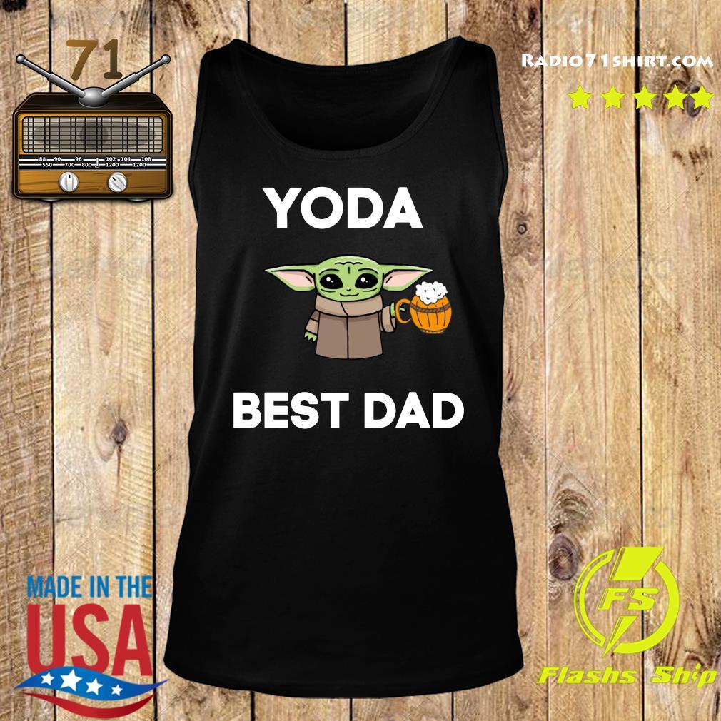 Baby Yoda Best Dad Shirt Tank top