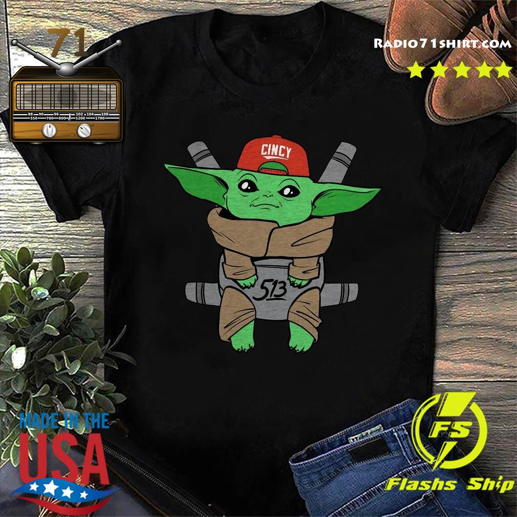 Baby Yoda Cincy 513 Shirt