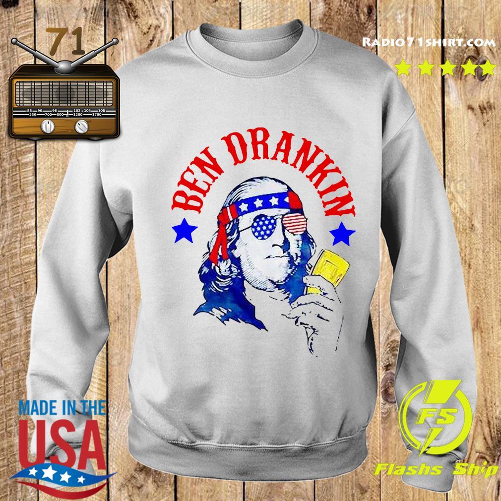 Ben Drankin 4th Of July Shirt Sweater