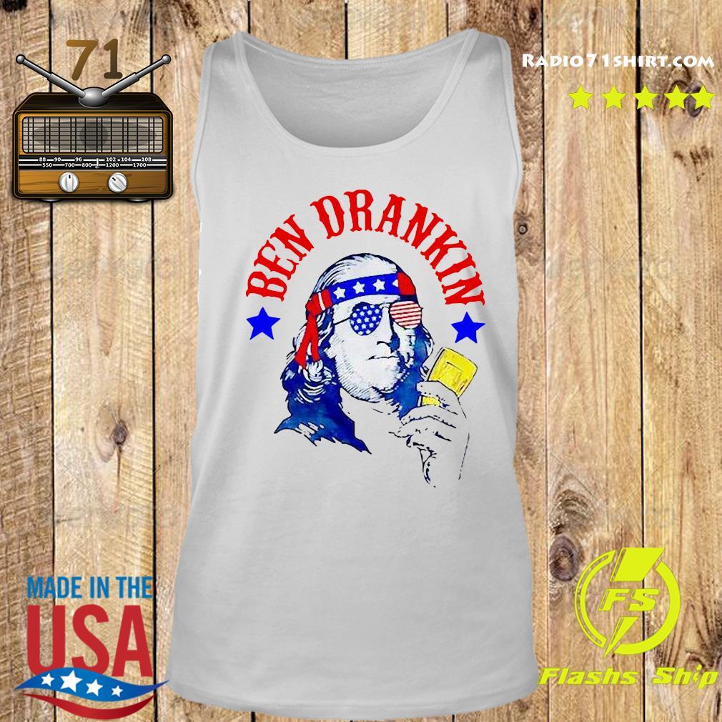Ben Drankin 4th Of July Shirt Tank top