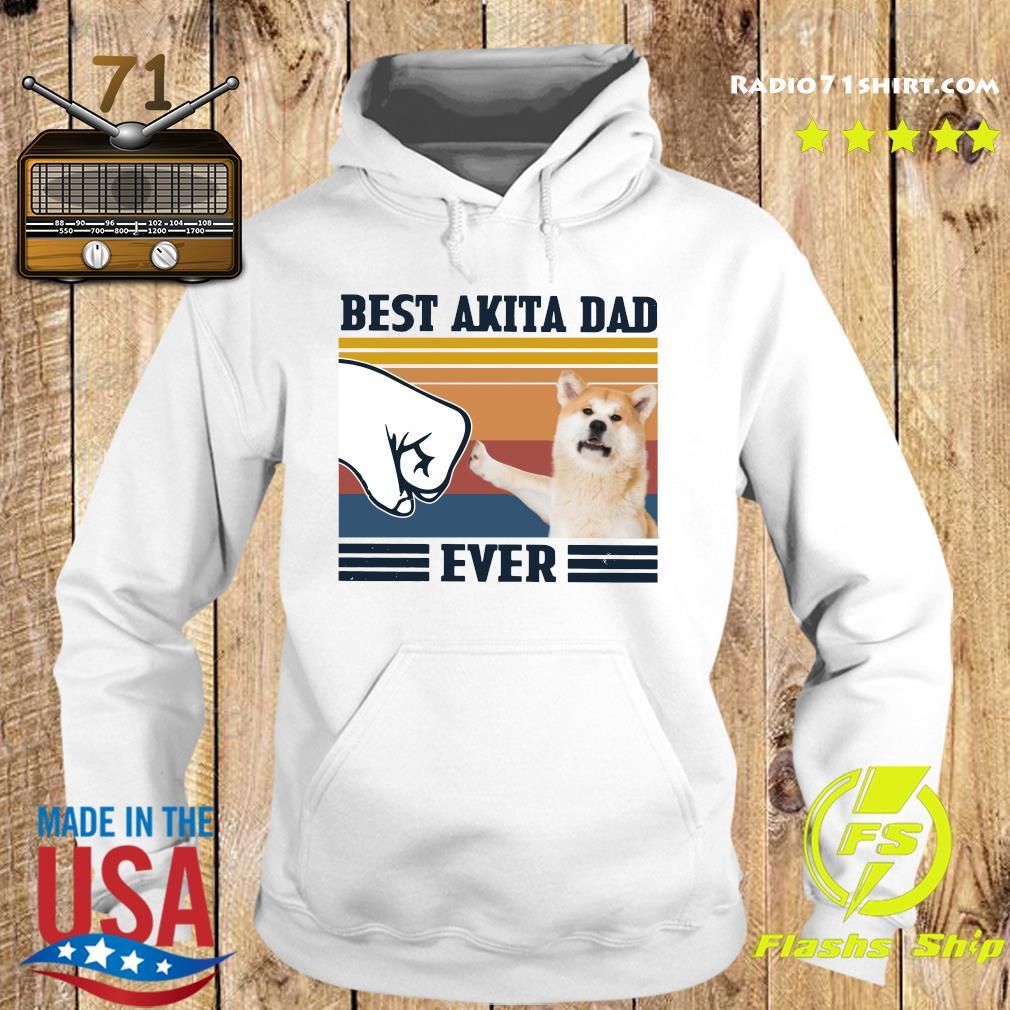 Best Akita Dad Ever Vintage Shirt Hoodie
