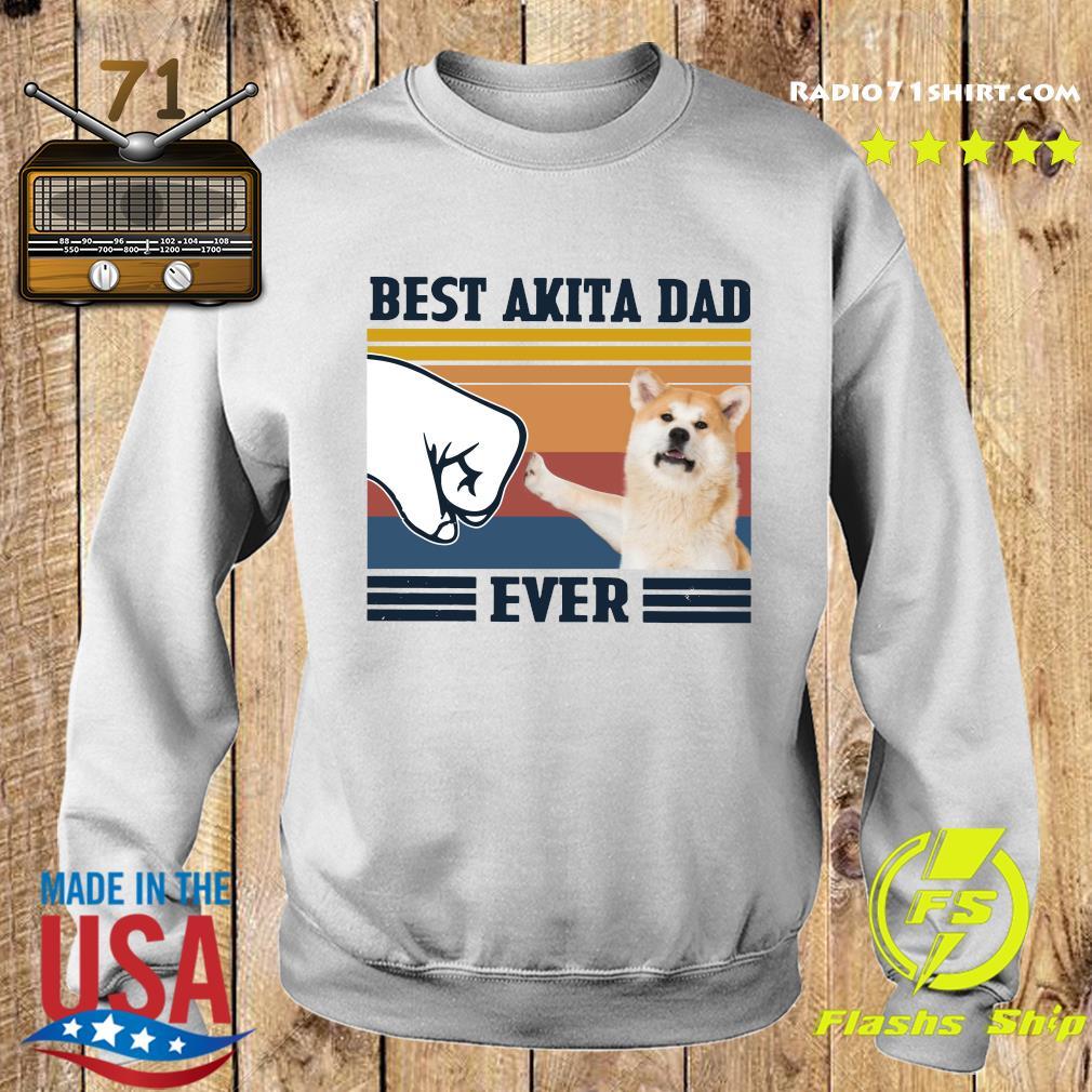 Best Akita Dad Ever Vintage Shirt Sweater