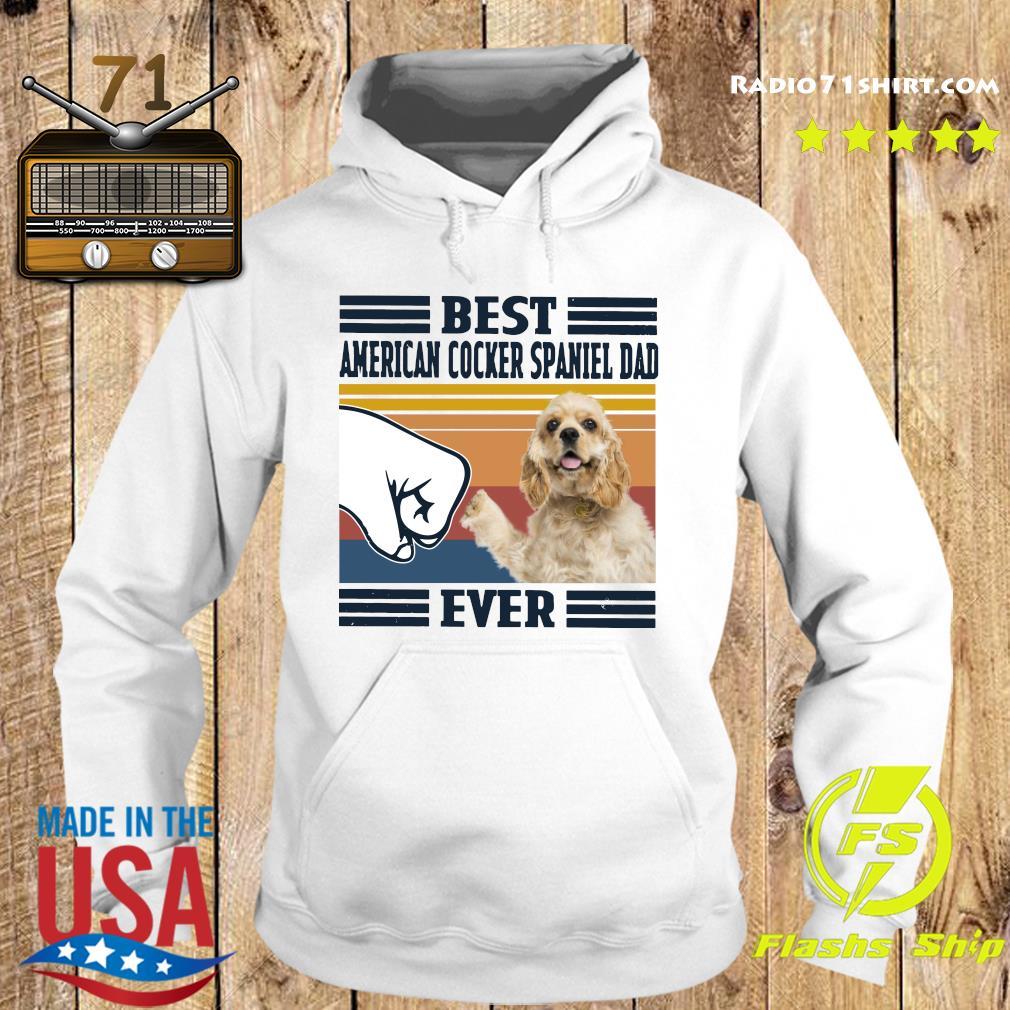 Best American Cocker Spaniel Dad Ever Vintage Shirt Hoodie