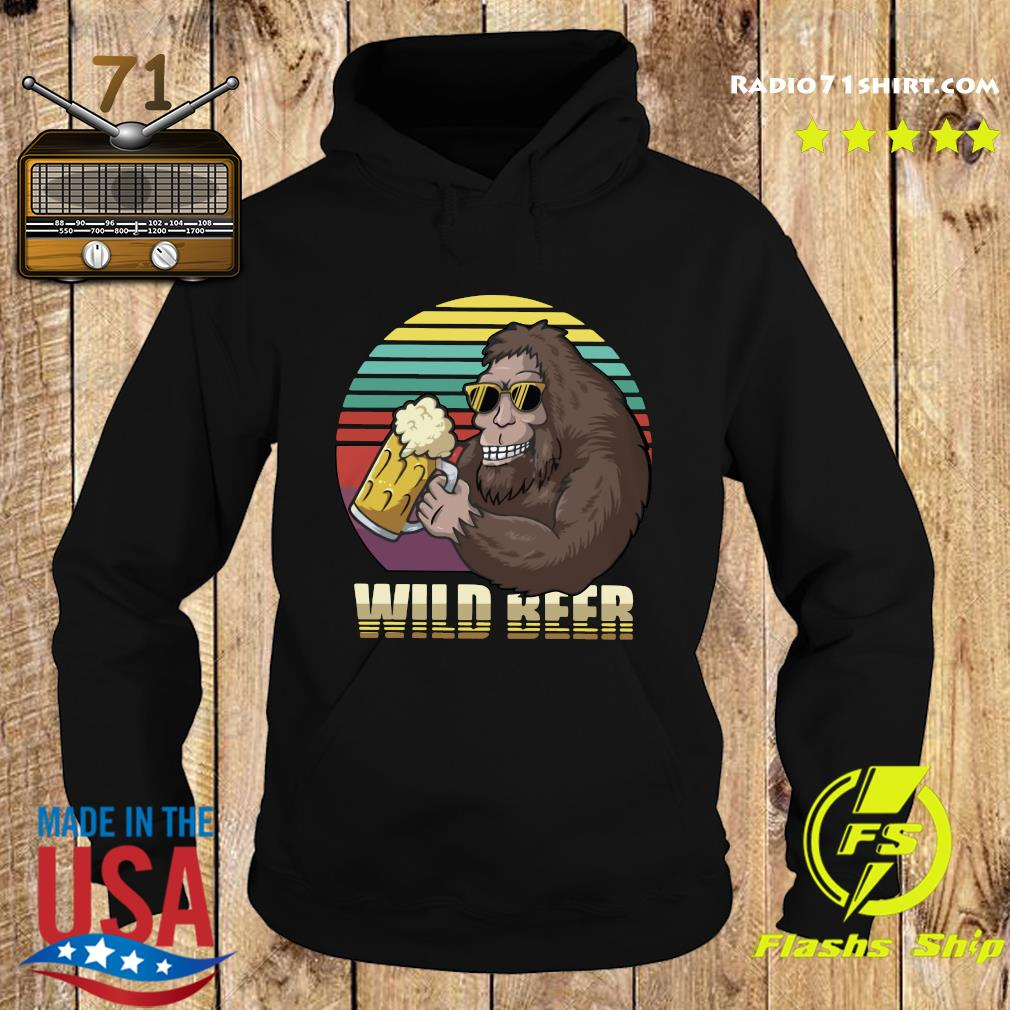 Bigfoot Wild Beer Shirt Hoodie