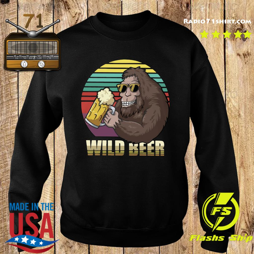 Bigfoot Wild Beer Shirt Sweater
