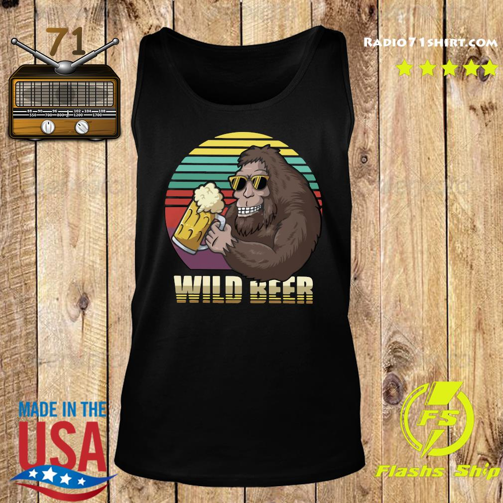 Bigfoot Wild Beer Shirt Tank top