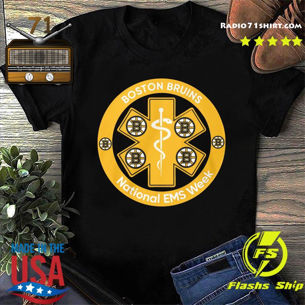 Boston Bruins National Ems Week Shirt