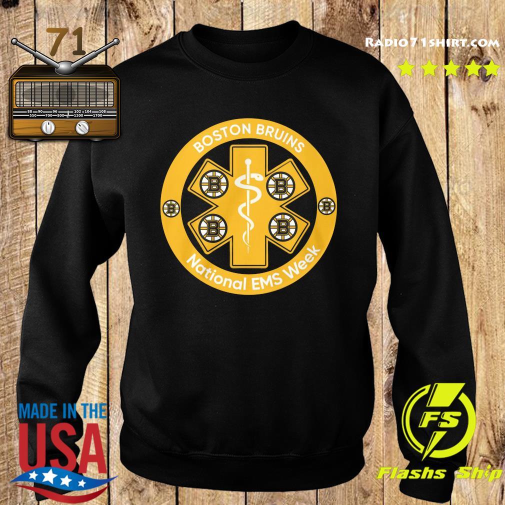 Boston Bruins National Ems Week Shirt Sweater