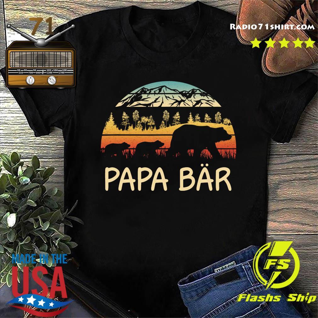 Camping Papa Bar Vintage Shirttee