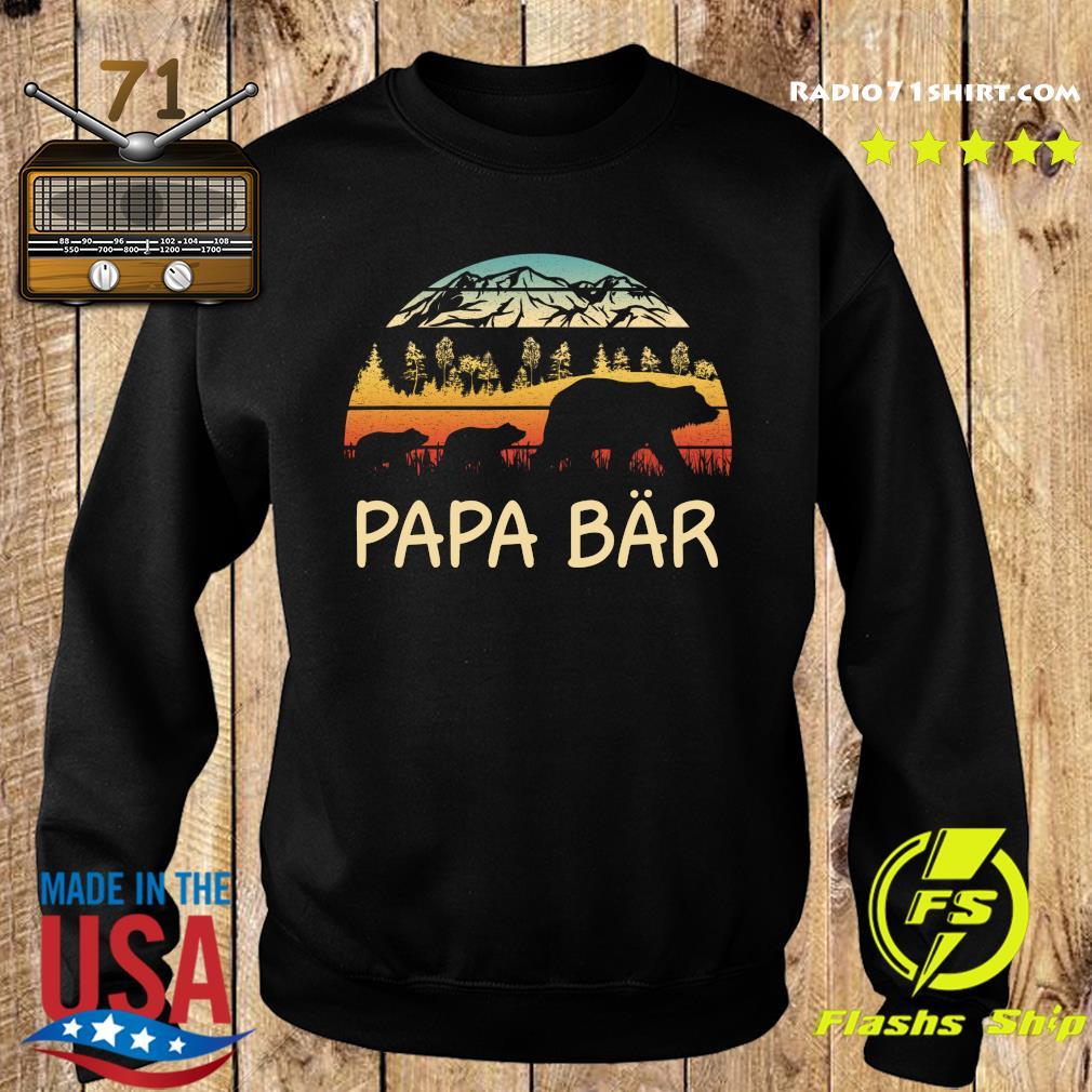 Camping Papa Bar Vintage Shirttee Sweater