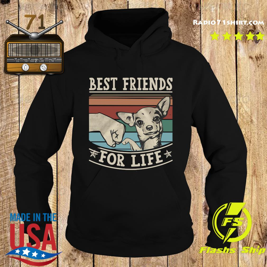 Chihuahua Best Friends For Life Vintage Shirt Hoodie