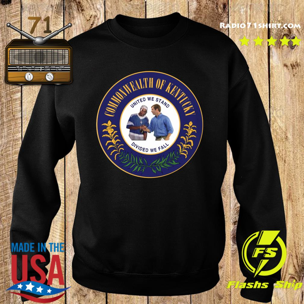 Commonwealth Of Kentucky United We Stand Divided We Fall Shirt Sweater