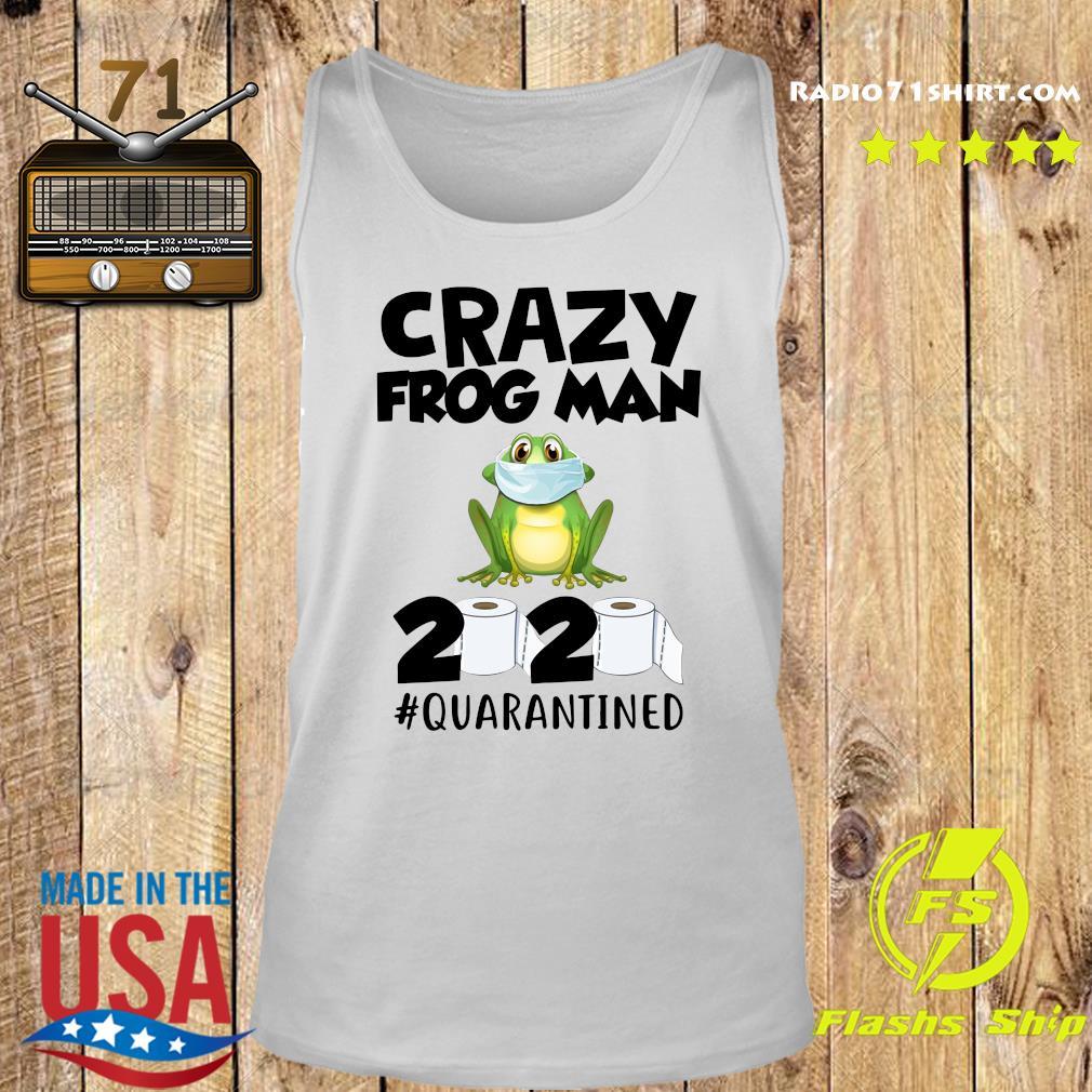 Crazy Frog Man 2020 Toilet Paper Quarantined Shirt Tank top