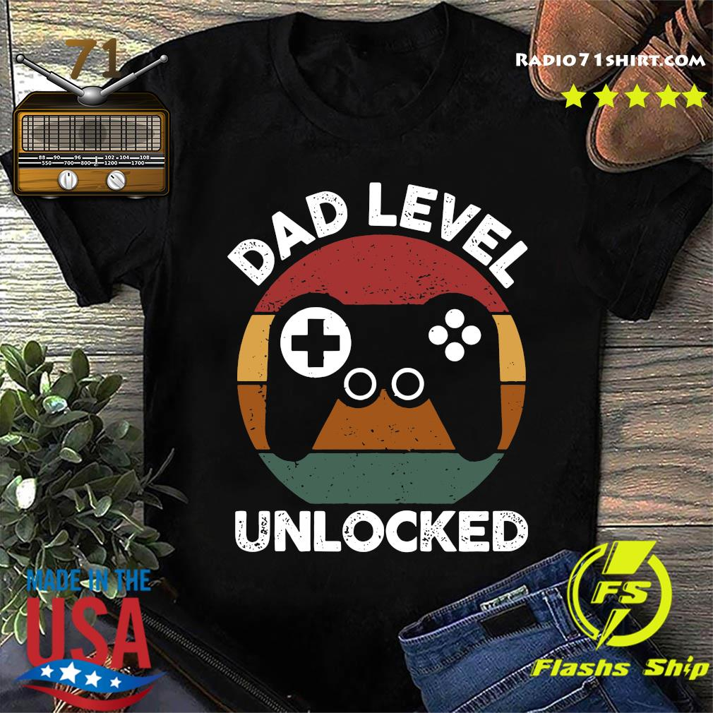 Dad Level Unlocked Shirt