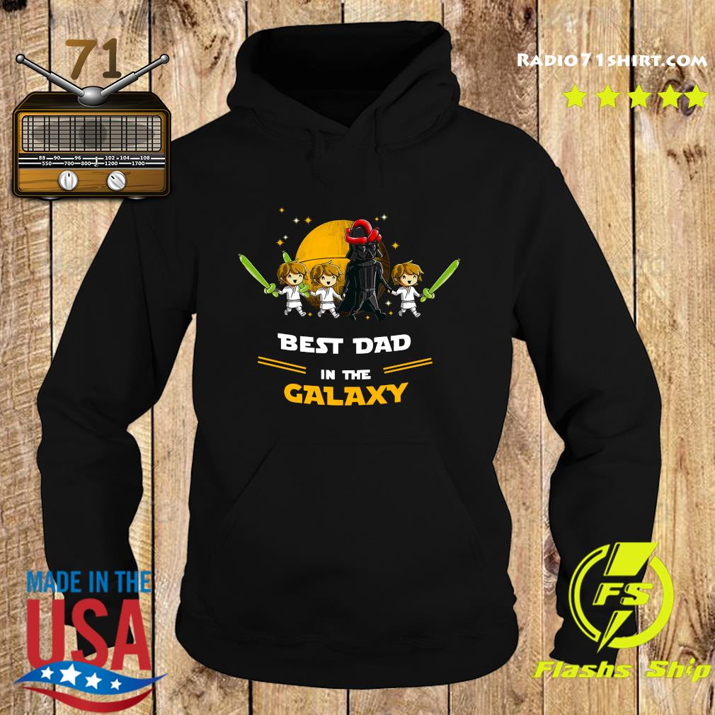 Darth Vader Father And Three Sons Best Dad In The Galaxy Shirt Hoodie
