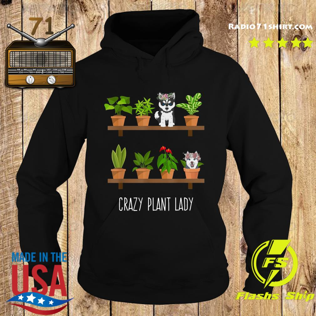 Dogs Crazy Plant Lady Shirt Hoodie