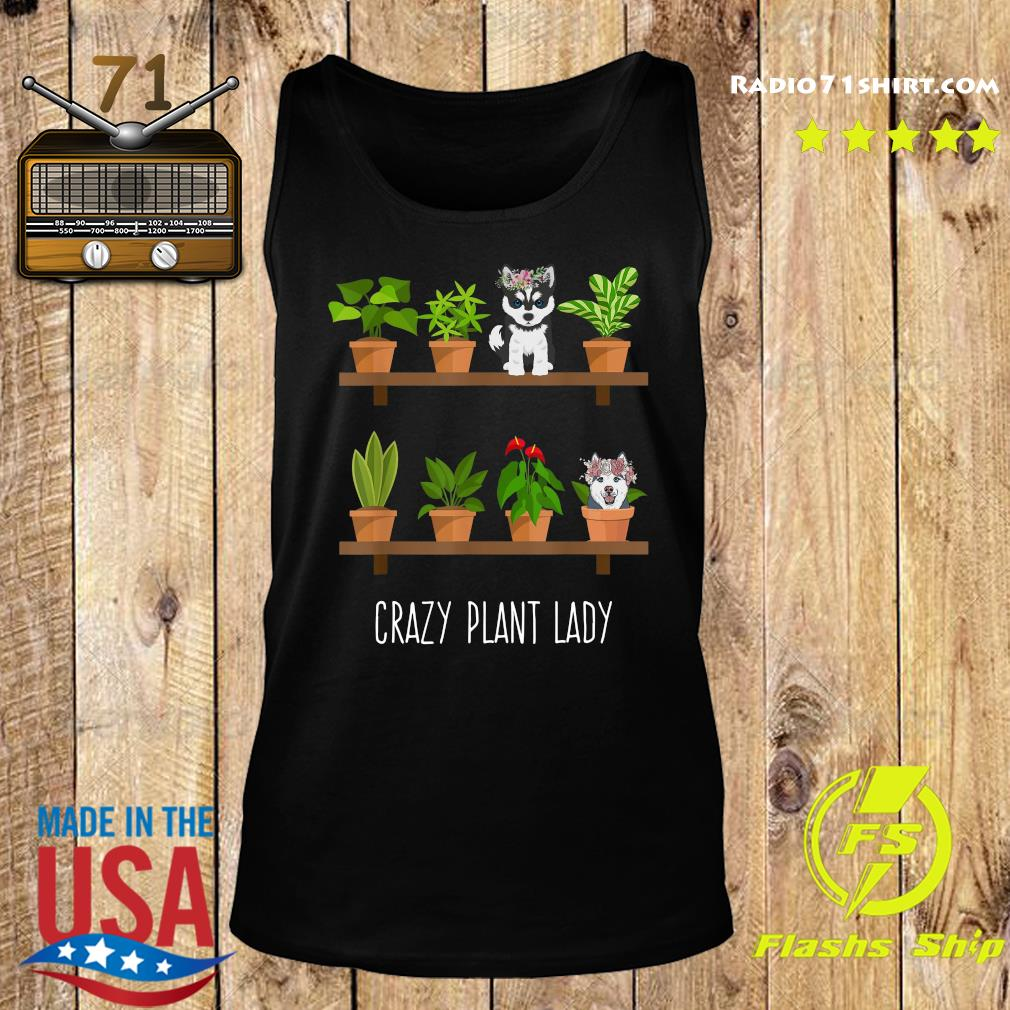 Dogs Crazy Plant Lady Shirt Tank top