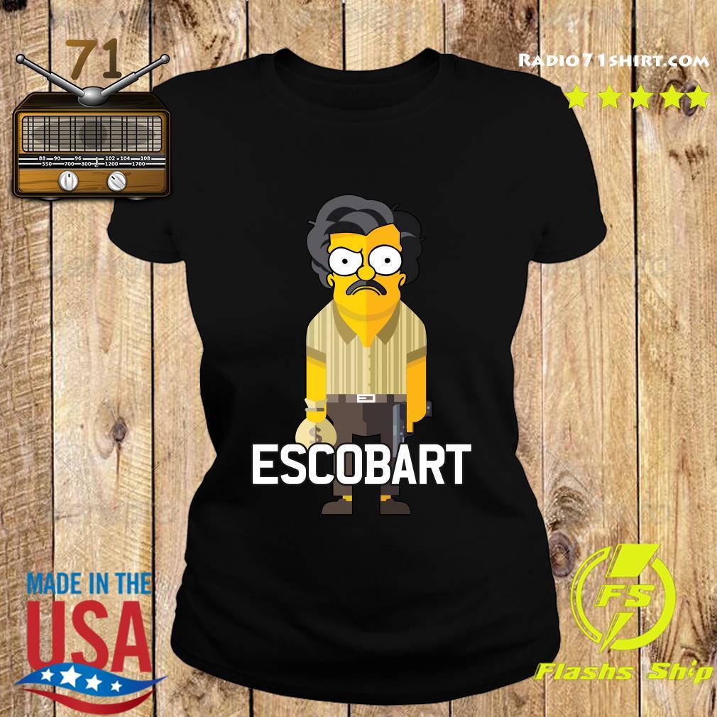 Escobart Money Pistol Shirt Ladies tee