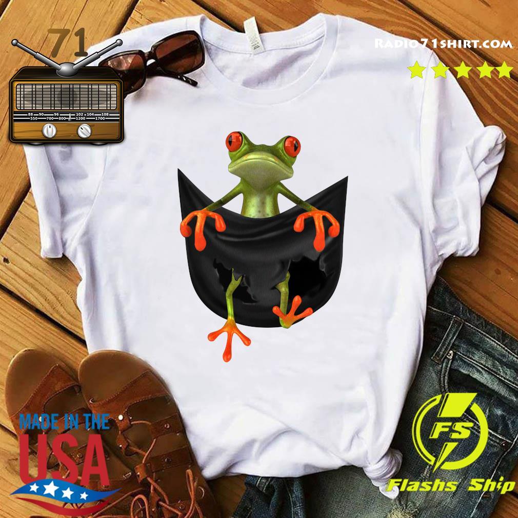 Frog In Pocket Shirt