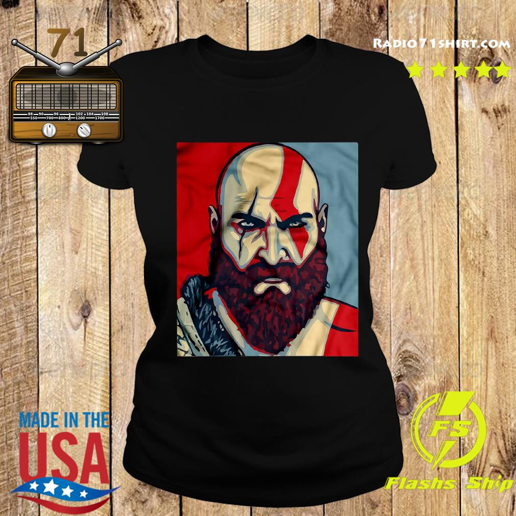 Funny Kratos Red Dead Redemption Shirt Ladies tee
