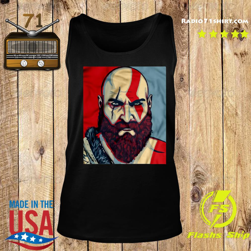 Funny Kratos Red Dead Redemption Shirt Tank top