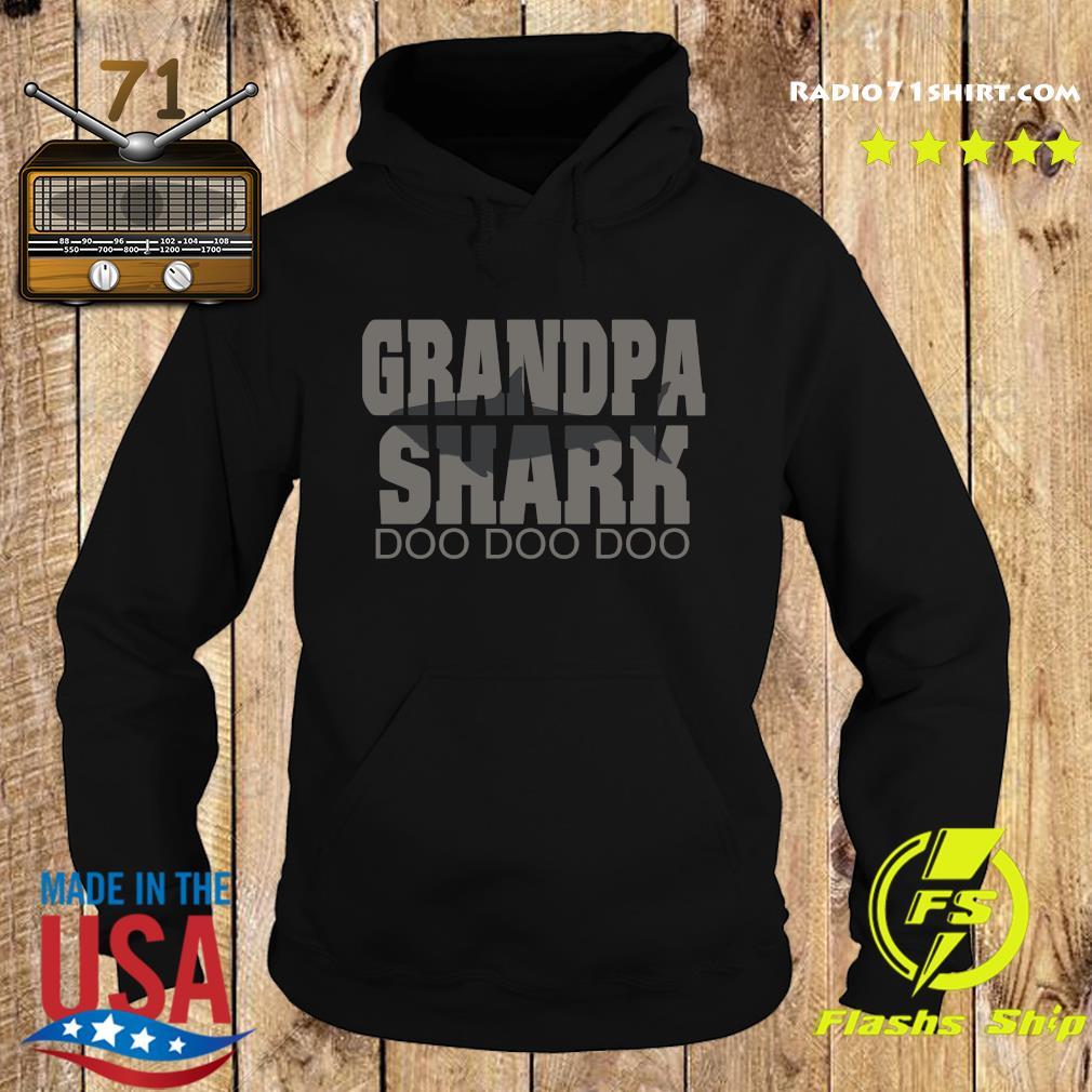 Grandpa Shark Doo Doo Doo Shirt Hoodie