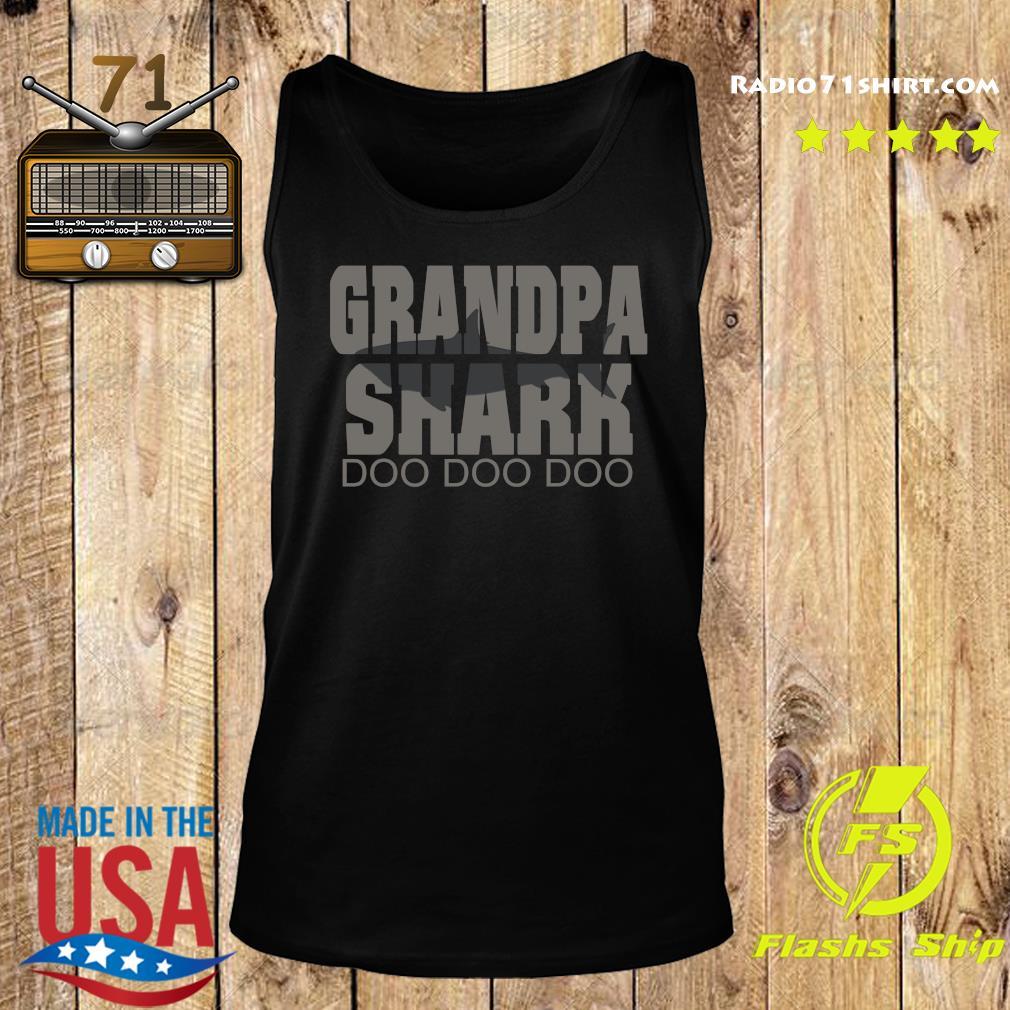 Grandpa Shark Doo Doo Doo Shirt Tank top