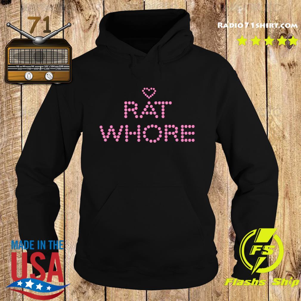 Heart Rat Whore Shirt Hoodie