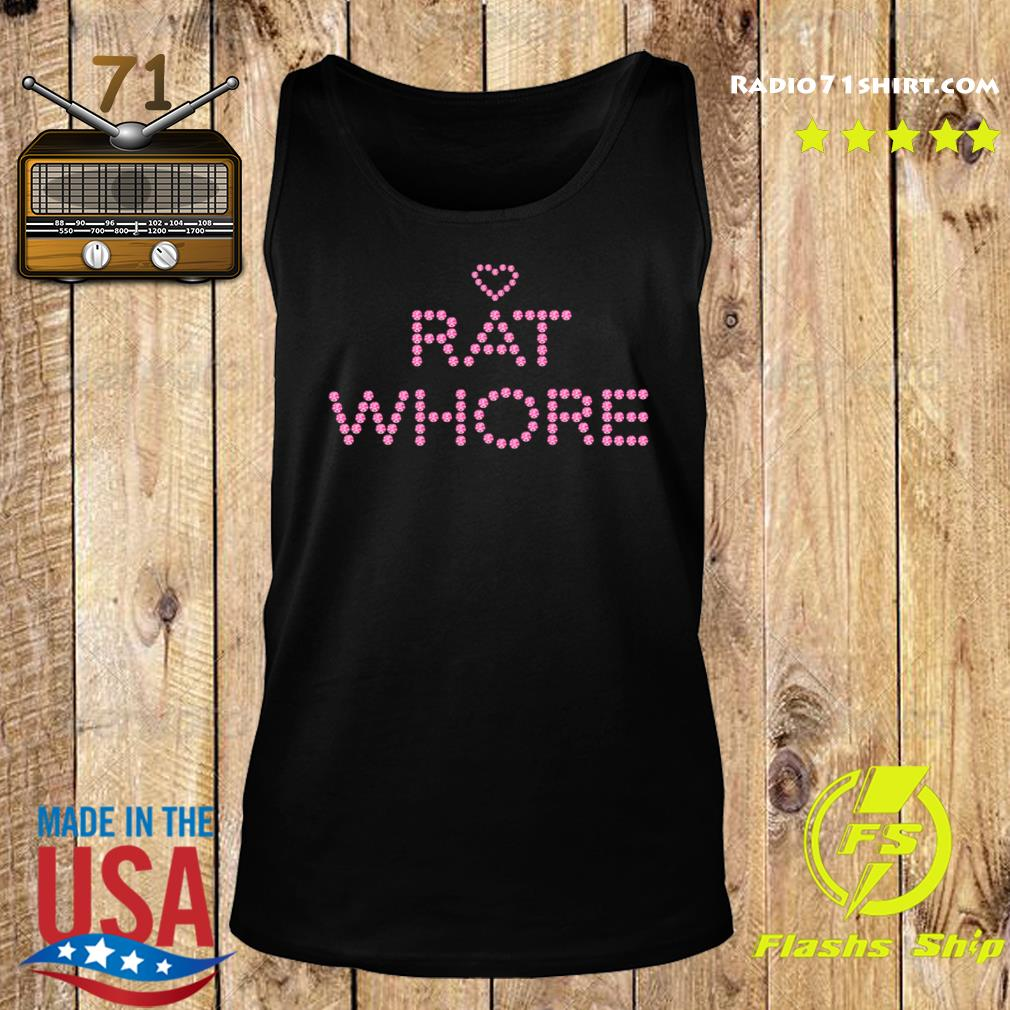 Heart Rat Whore Shirt Tank top