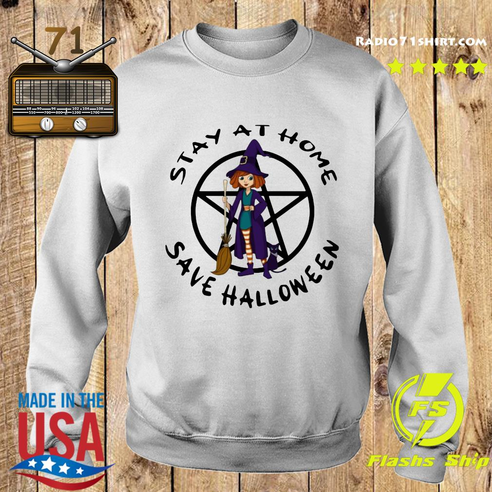 hot witch stay at home save halloween s Sweater