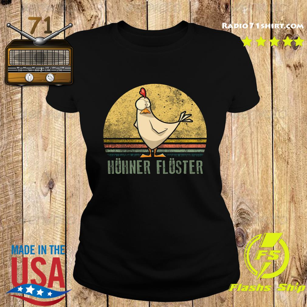 Huhner Fluster Vintage Shirt Ladies tee