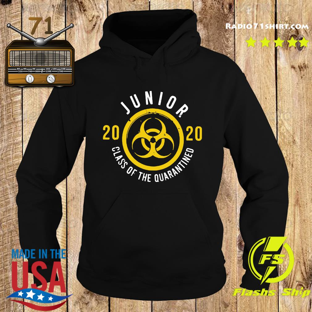 Junior 2020 Class Of The Quarantined Shirt Hoodie