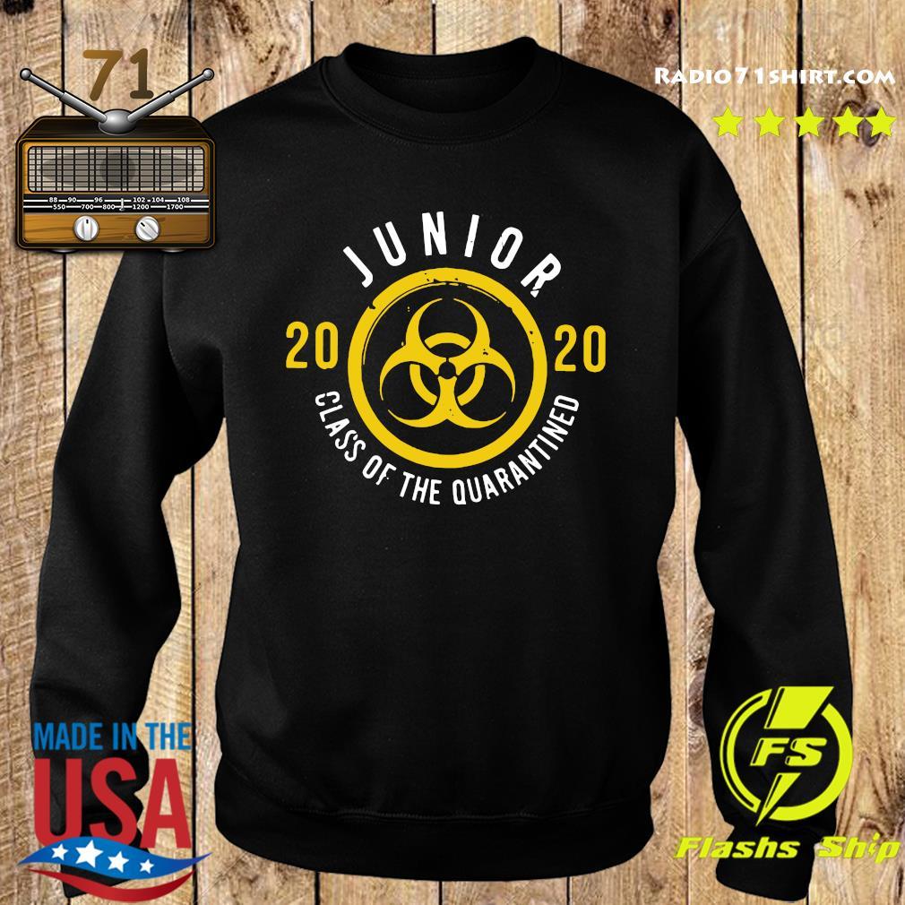 Junior 2020 Class Of The Quarantined Shirt Sweater
