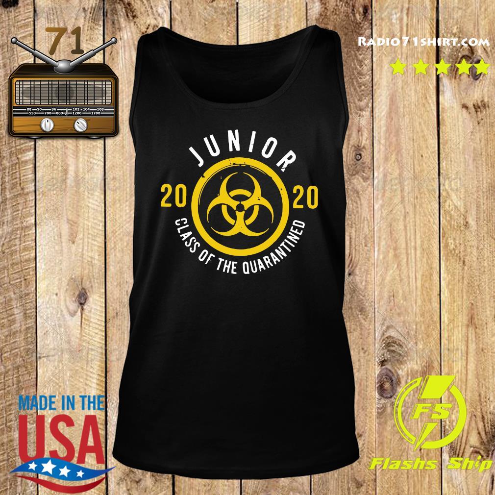 Junior 2020 Class Of The Quarantined Shirt Tank top