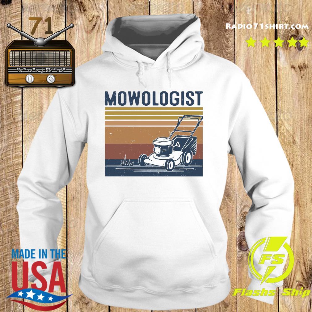 Mowologist Vintage Shirt Hoodie