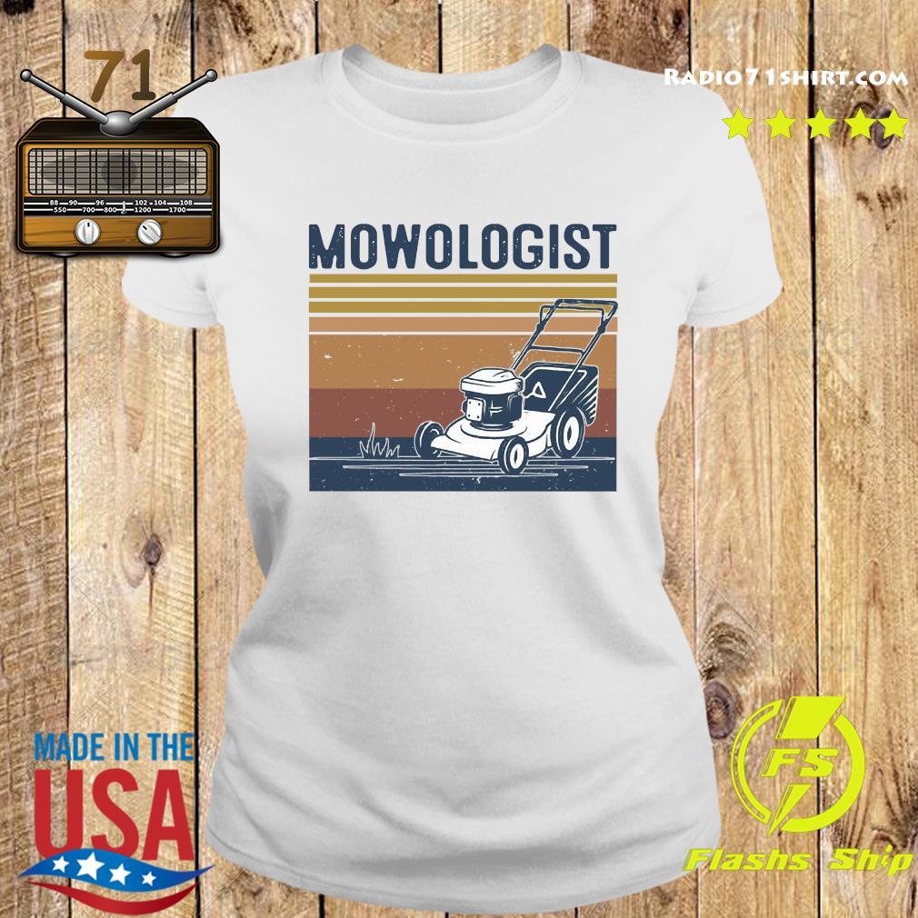 Mowologist Vintage Shirt Ladies tee