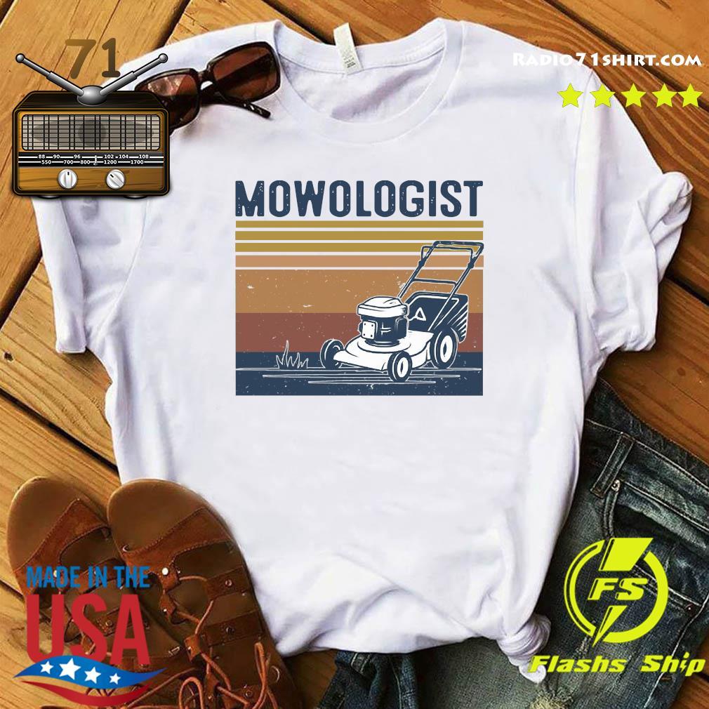 Mowologist Vintage Shirt