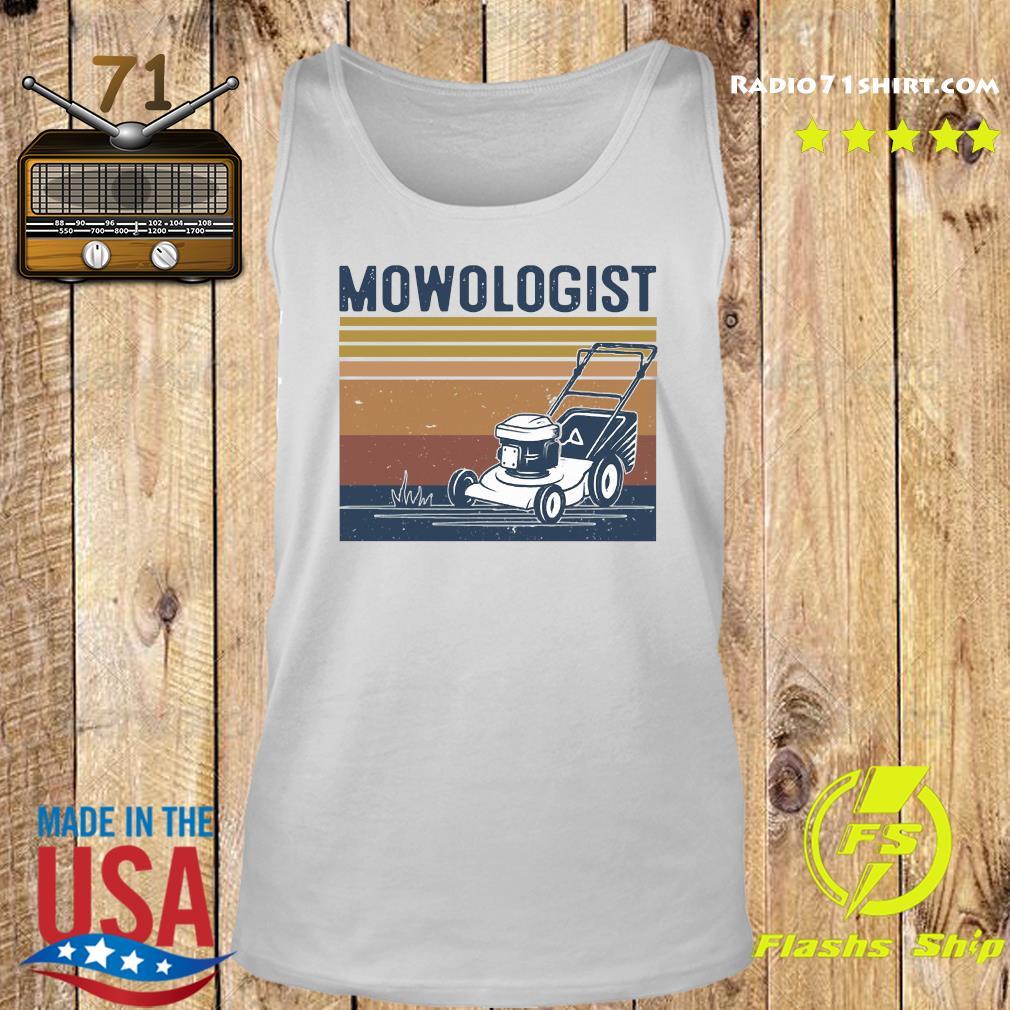 Mowologist Vintage Shirt Tank top
