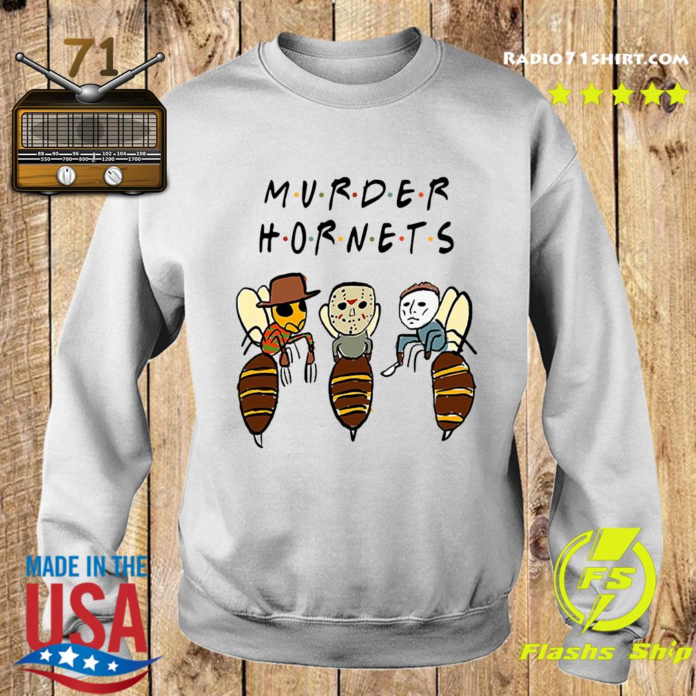 Murder Hornets Bees Freddy Krueger Jason Voorhees Michael Myers Shirt Sweater