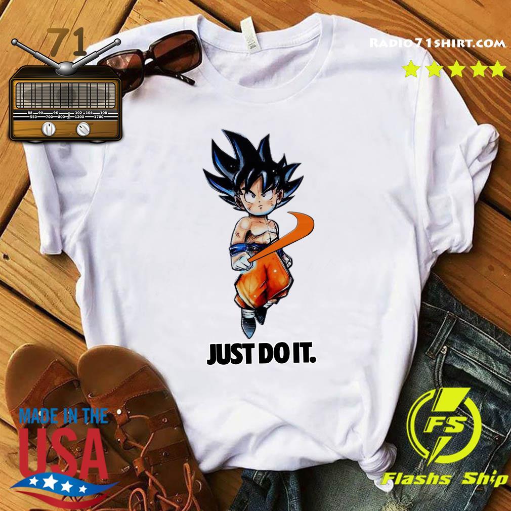 Nike Songoku Just Do It Dragon Ball Shirt