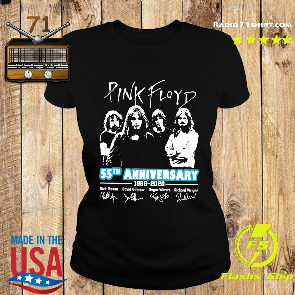 Pink Floyd 55th Anniversary 1965 2020 Signatures Shirt Ladies tee