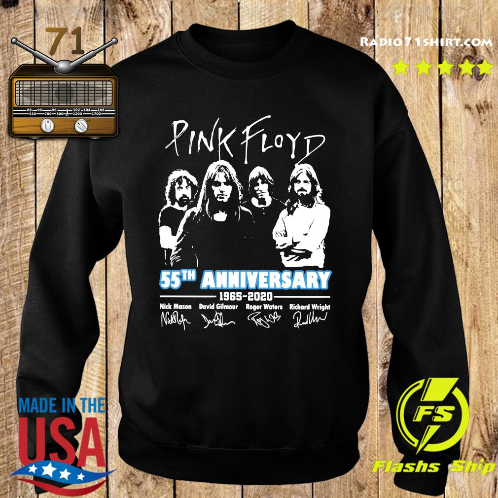 Pink Floyd 55th Anniversary 1965 2020 Signatures Shirt Sweater
