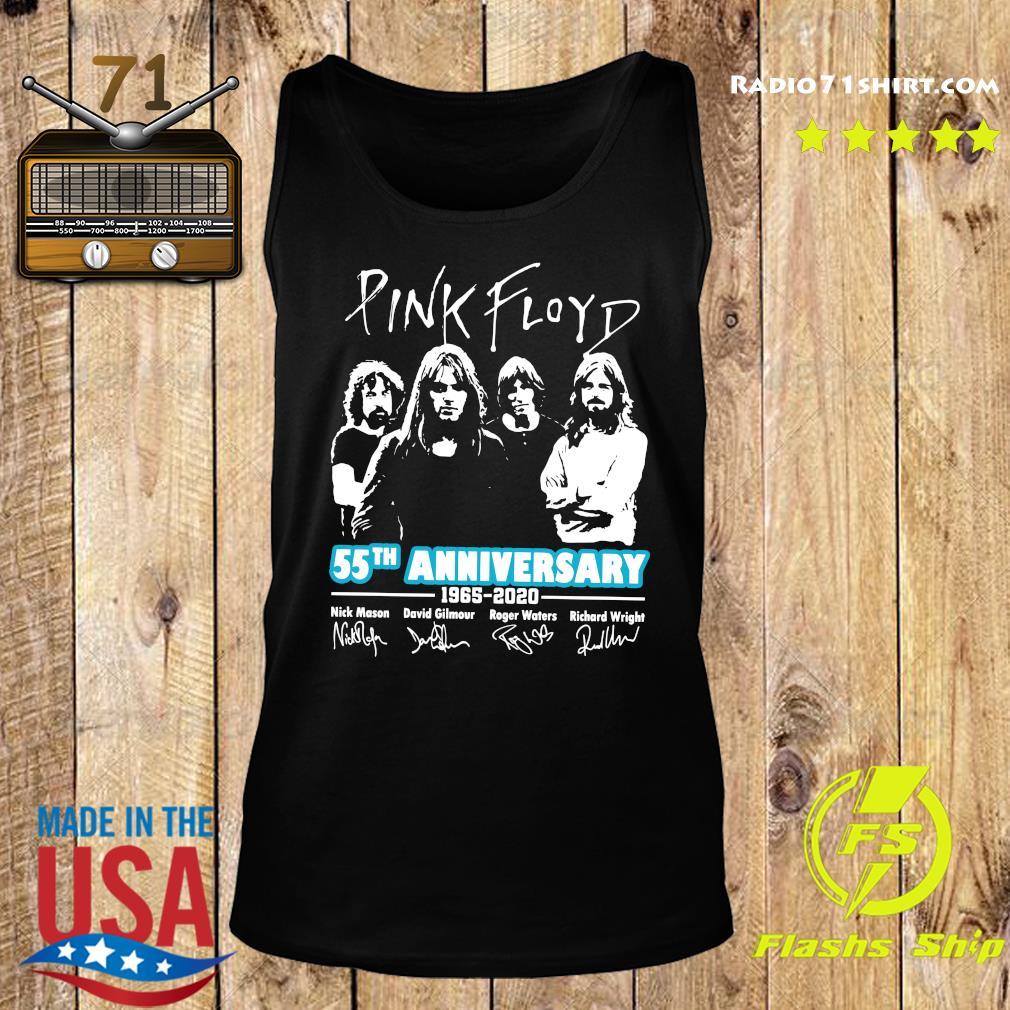 Pink Floyd 55th Anniversary 1965 2020 Signatures Shirt Tank top